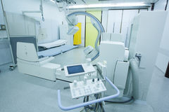 Hospital room with modern x-ray machine Stock Photography