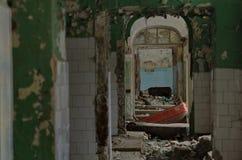 Hospital ruins Royalty Free Stock Image