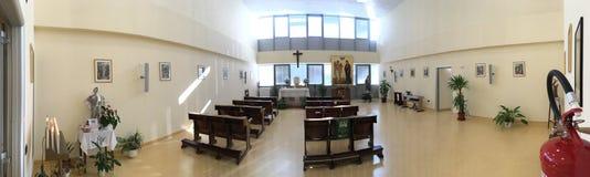 Hospital's kyrka royaltyfria foton
