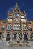 Hospital Sant Pau Imagens de Stock Royalty Free