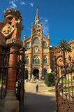Hospital Sant Pau in Barcelona. Spain Royalty Free Stock Photo