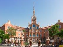 Hospital Sant Pau, Barcelona, Spain Stock Photography