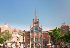 Hospital Sant Pau, Barcelona, Spain Royalty Free Stock Photography