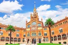Hospital Sant Pau Recinte Modernista. Stock Image