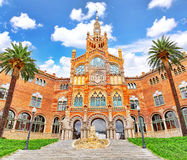 Hospital Sant Pau Recinte Modernista. Stock Photography