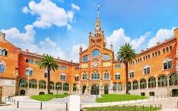 Hospital Sant Pau Recinte Modernista. Stock Images