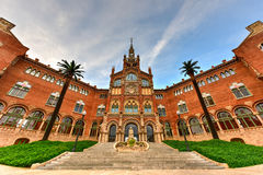 Hospital Sant Pau Recinte Modernista -Barcelona, Spain. Hospital Sant Pau Recinte Modernista in Barcelona, Catalonia, Spain Stock Photos