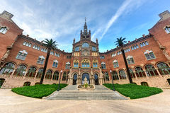 Hospital Sant Pau Recinte Modernista -Barcelona, Spain Stock Images