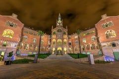 Hospital Sant Pau Recinte Modernista -Barcelona, Spain Royalty Free Stock Photos