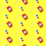 Hospital seamless pattern Stock Photography