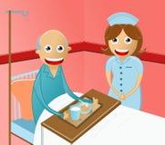 Hospital service Stock Image