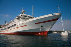 Hospital-ship Royalty Free Stock Photos