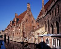Hospital of St. John, Bruges. Royalty Free Stock Photos