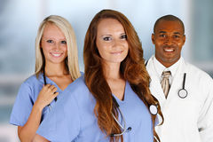 Hospital Staff Stock Photography