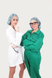 Hospital staff Stock Image
