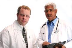 Hospital Staff. Set on white background Stock Photo