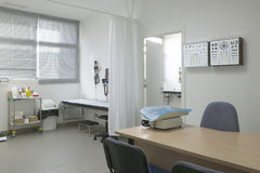 Hospital surgery childhood room medical control and exploration Stock Images