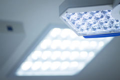 Hospital surgery operating room light Royalty Free Stock Images