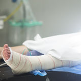 Hospital surgery patient Stock Photography
