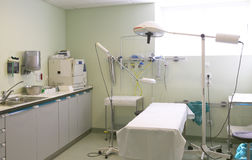 Hospital surgery room medical control and exploration Stock Images