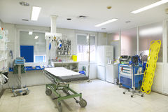 Hospital surgery room medical control and exploration Royalty Free Stock Photos