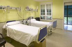 Hospital surgery room medical control and exploration. Nobody Stock Photo