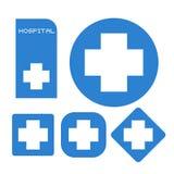 Hospital symbols Stock Image