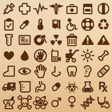 Hospital symbols Stock Images