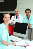 Hospital team Royalty Free Stock Image