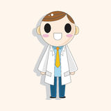 Hospital theme doctor elements vector,eps Royalty Free Stock Photo
