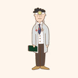 Hospital theme doctor elements vector,eps Royalty Free Stock Photos
