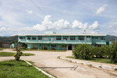 The hospital in Trinidad (Cuba). The main hospital in Trinidad (Cuba Stock Photo