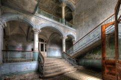 Hospital viejo en Beelitz Foto de archivo libre de regalías