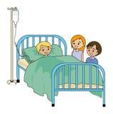 Hospital Visitors Stock Photos