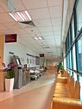 Hospital waiting area Royalty Free Stock Images