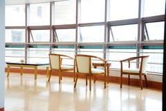 Hospital waiting room Royalty Free Stock Image