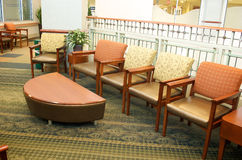 Hospital Waiting Room. A waiting room in a hospital Royalty Free Stock Photo
