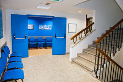 Hospital waiting room Royalty Free Stock Images