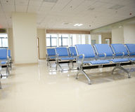 Hospital waiting room Stock Photo