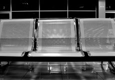 Hospital waiting room with empty chairs Royalty Free Stock Image