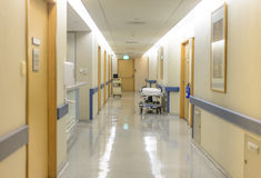 Hospital Ward Hallway Stock Images