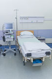 Hospital ward with medical equipment Stock Image