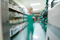 Hospital Warehouse Royalty Free Stock Photo