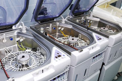 Hospital washing machines Stock Images
