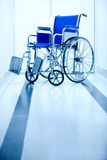 Hospital wheelchair Stock Photo