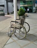 Hospital wheelchair Royalty Free Stock Photography