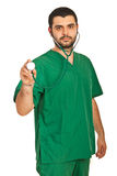 Hospital worker Stock Images
