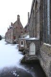 Hospital y canal de Jans del santo Fotografía de archivo libre de regalías