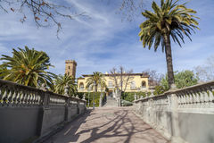 Hospitalet de Llobregat,卡塔龙尼亚,西班牙 免版税库存图片