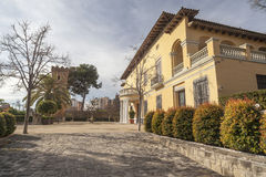 Hospitalet de Llobregat,卡塔龙尼亚,西班牙 免版税库存照片